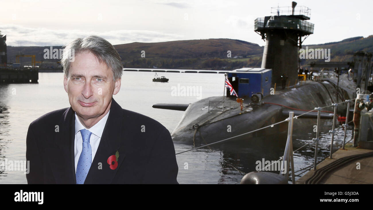 Nuclear submarines - Stock Image
