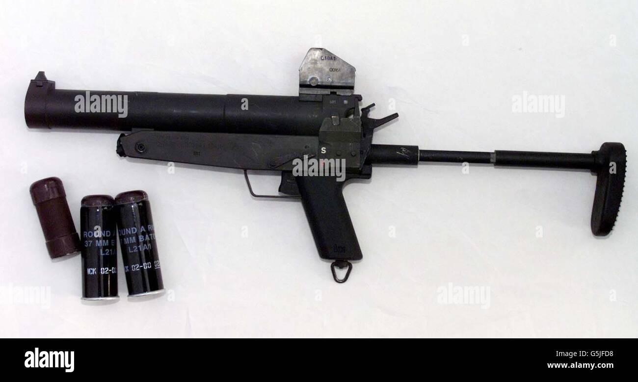New Heckler Koch baton gun - Stock Image