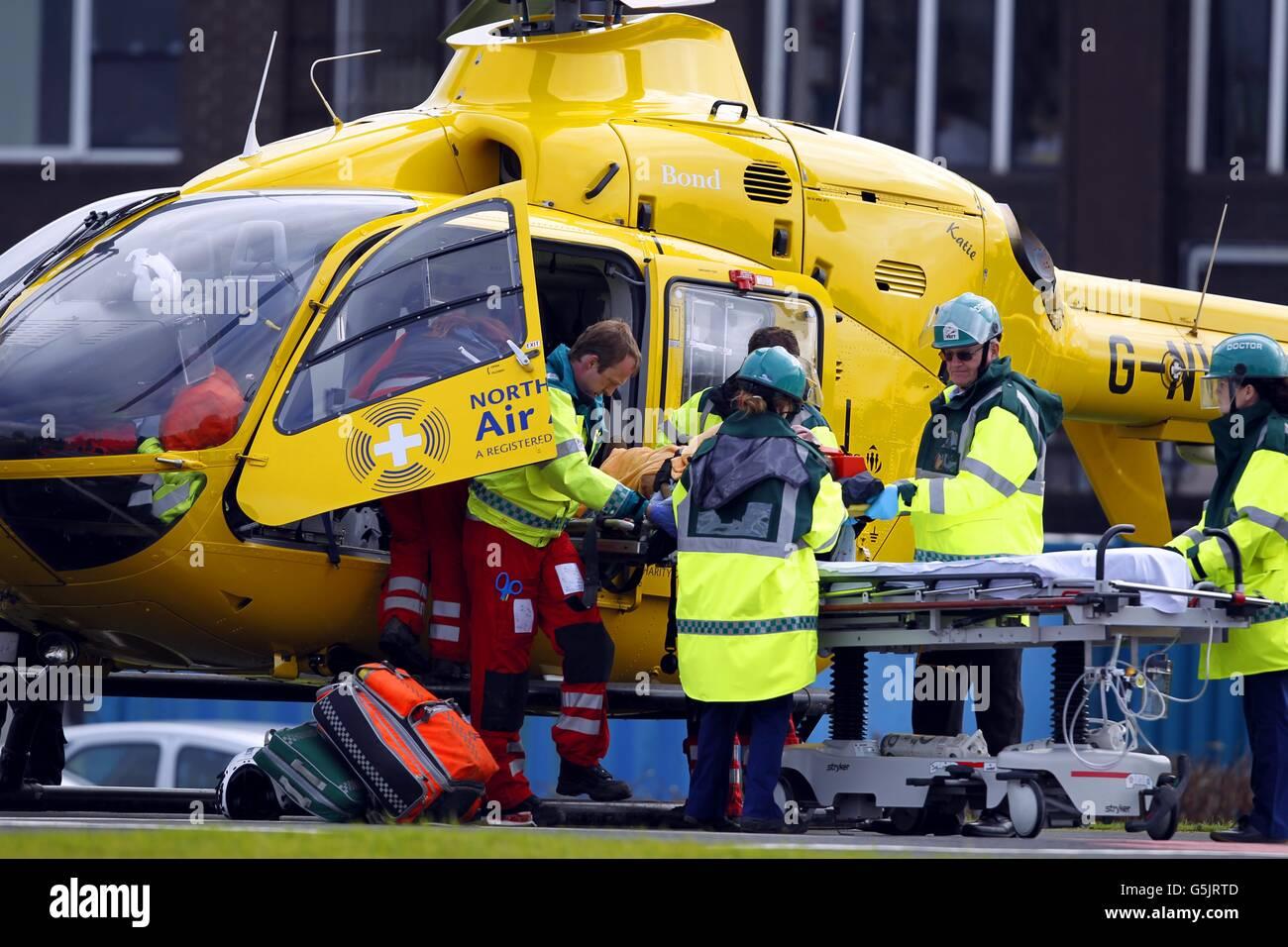 Air ambulance stock Stock Photo