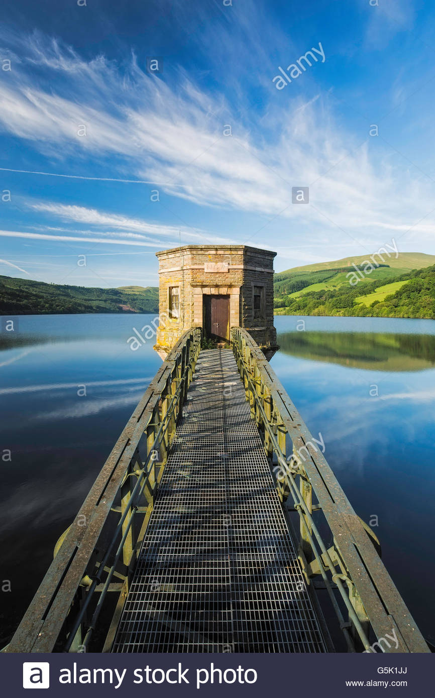 Talybont Reservoir, Brecon Beacons, Wales - Stock Image