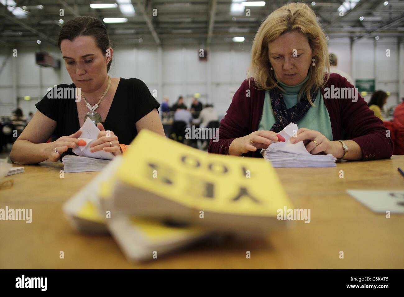 Irish Children's Referendum - Stock Image