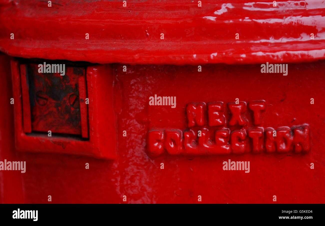 Consignia box Stock Photo