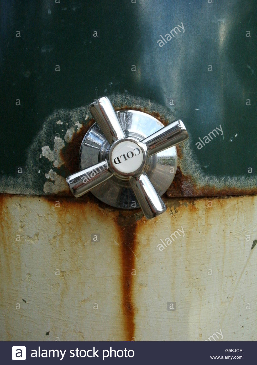 Cold Tap - Stock Image