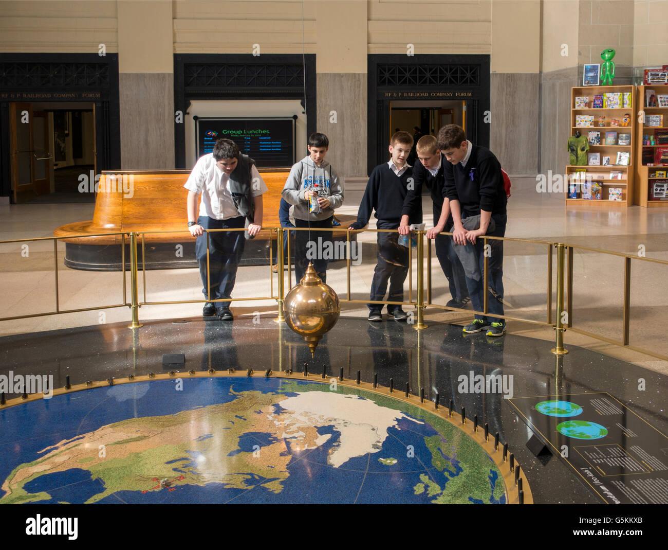 science museum of Virginia Richmond - Stock Image