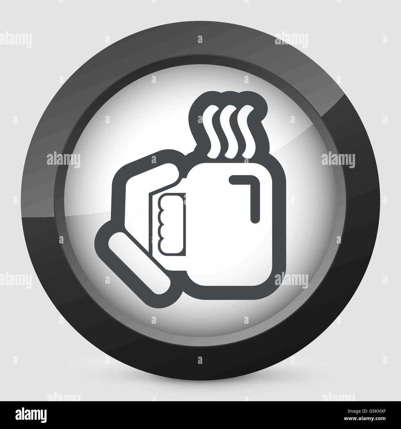 Warm beverage - Stock Vector