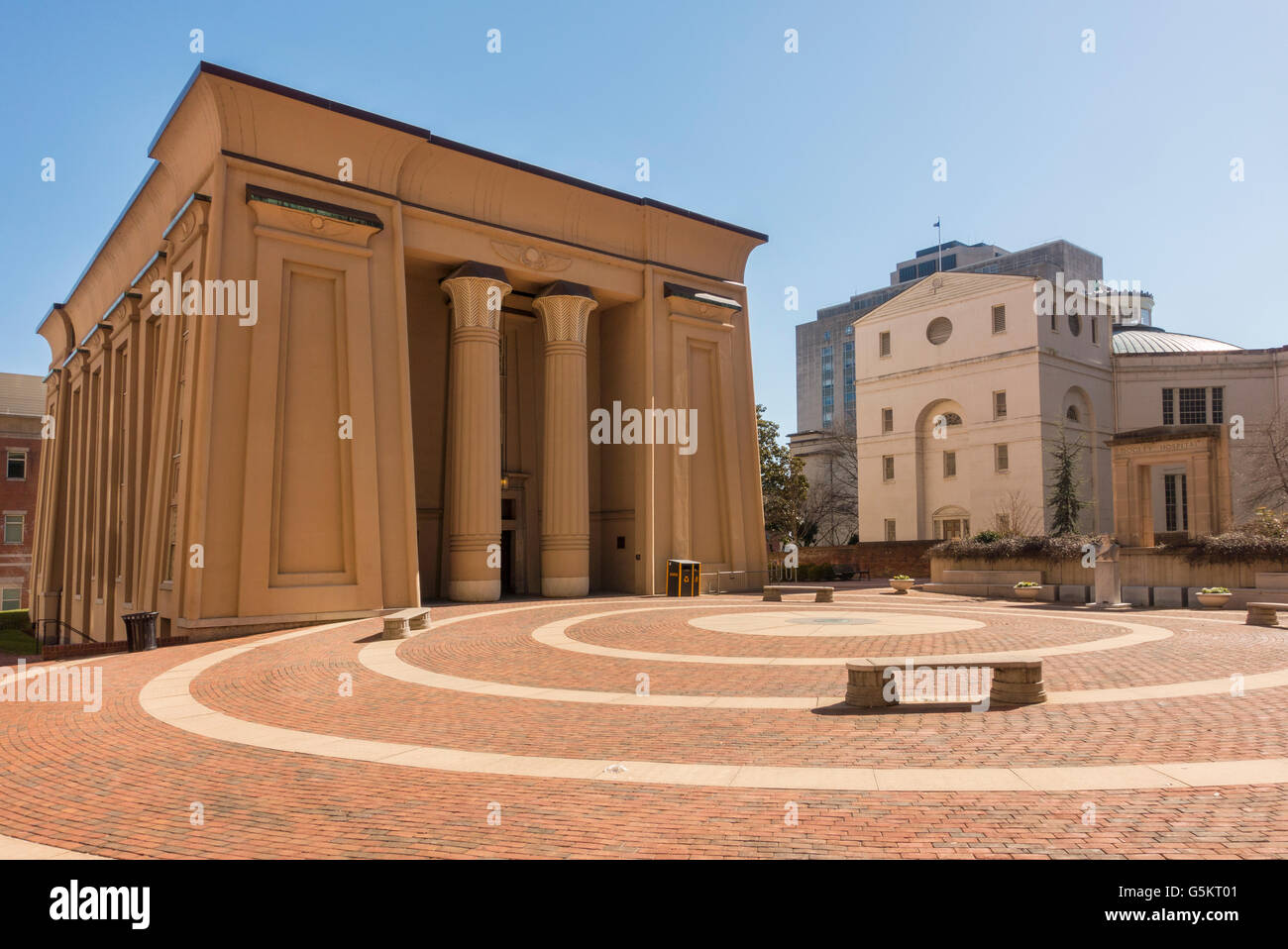 Egyptian Building Historic College Richmond Virginia