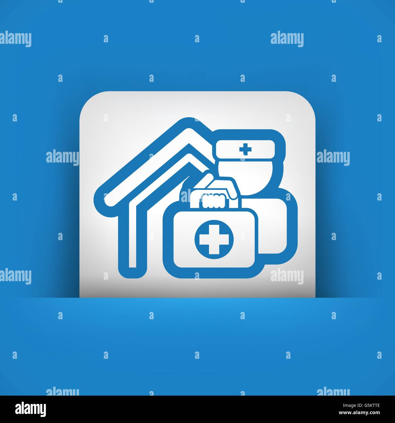 Medical to domicile Stock Vector Image & Art - Alamy