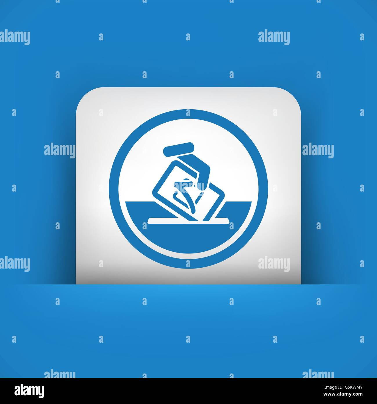 Vote symbol icon Stock Vector