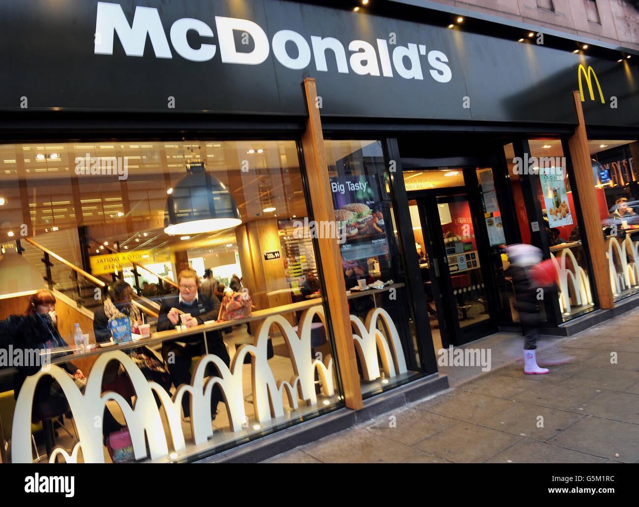 McDonald's jobs Stock Photo: 106775968 - Alamy