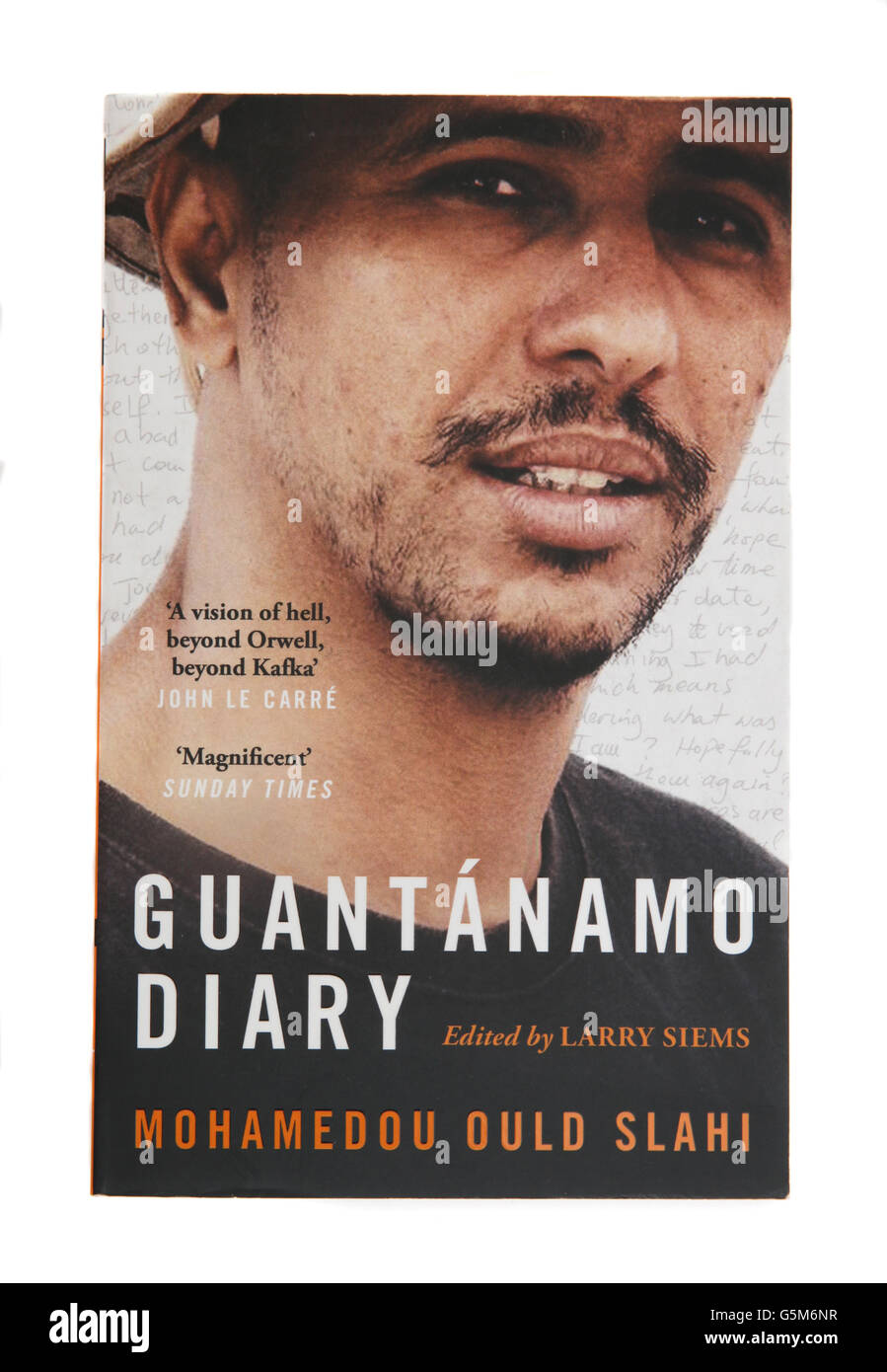 The book - Guantanamo Diary by Mohamedou Ould - Stock Image