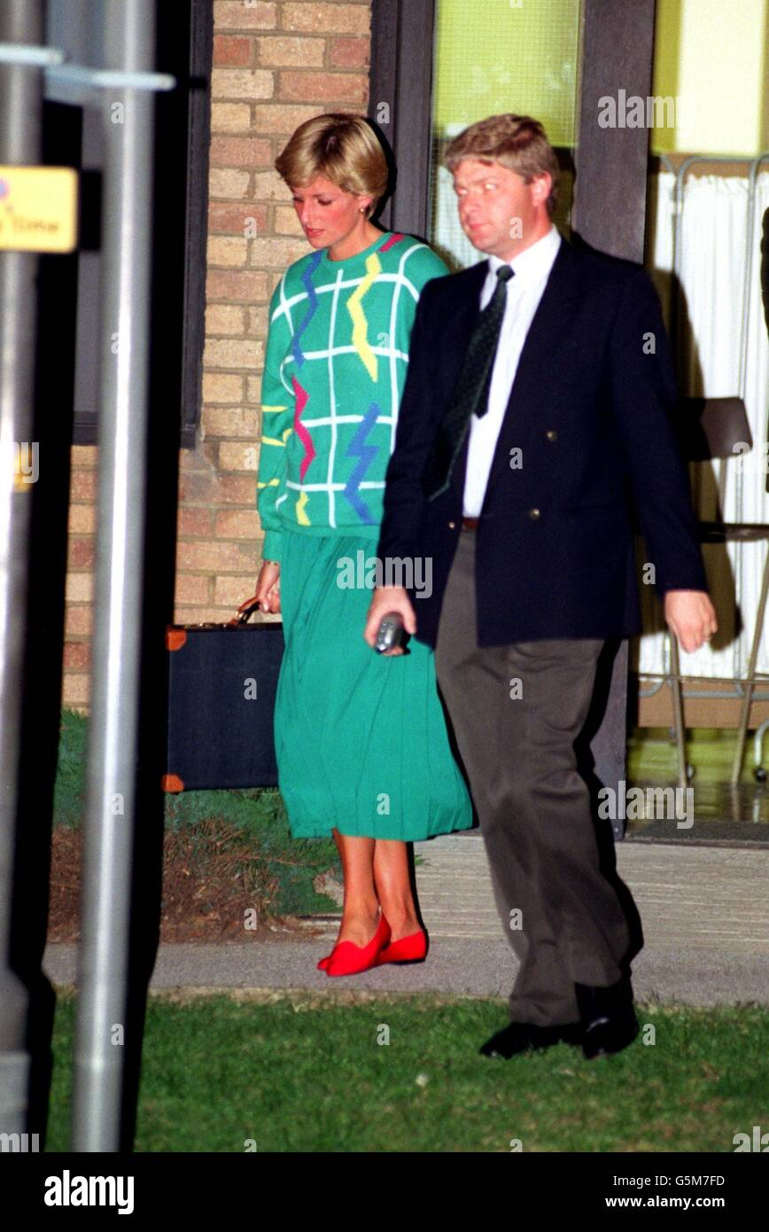 Princess Diana In Nottingham Stock Photos & Princess Diana In ...