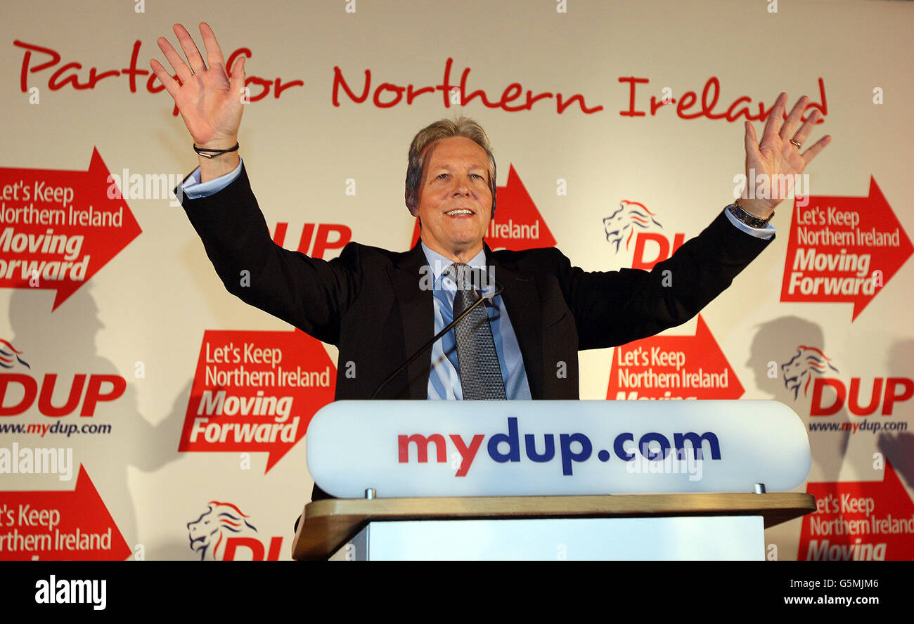 DUP conference - Stock Image