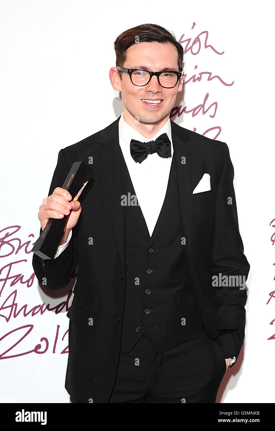 British Fashion Awards 2012 - London - Stock Image