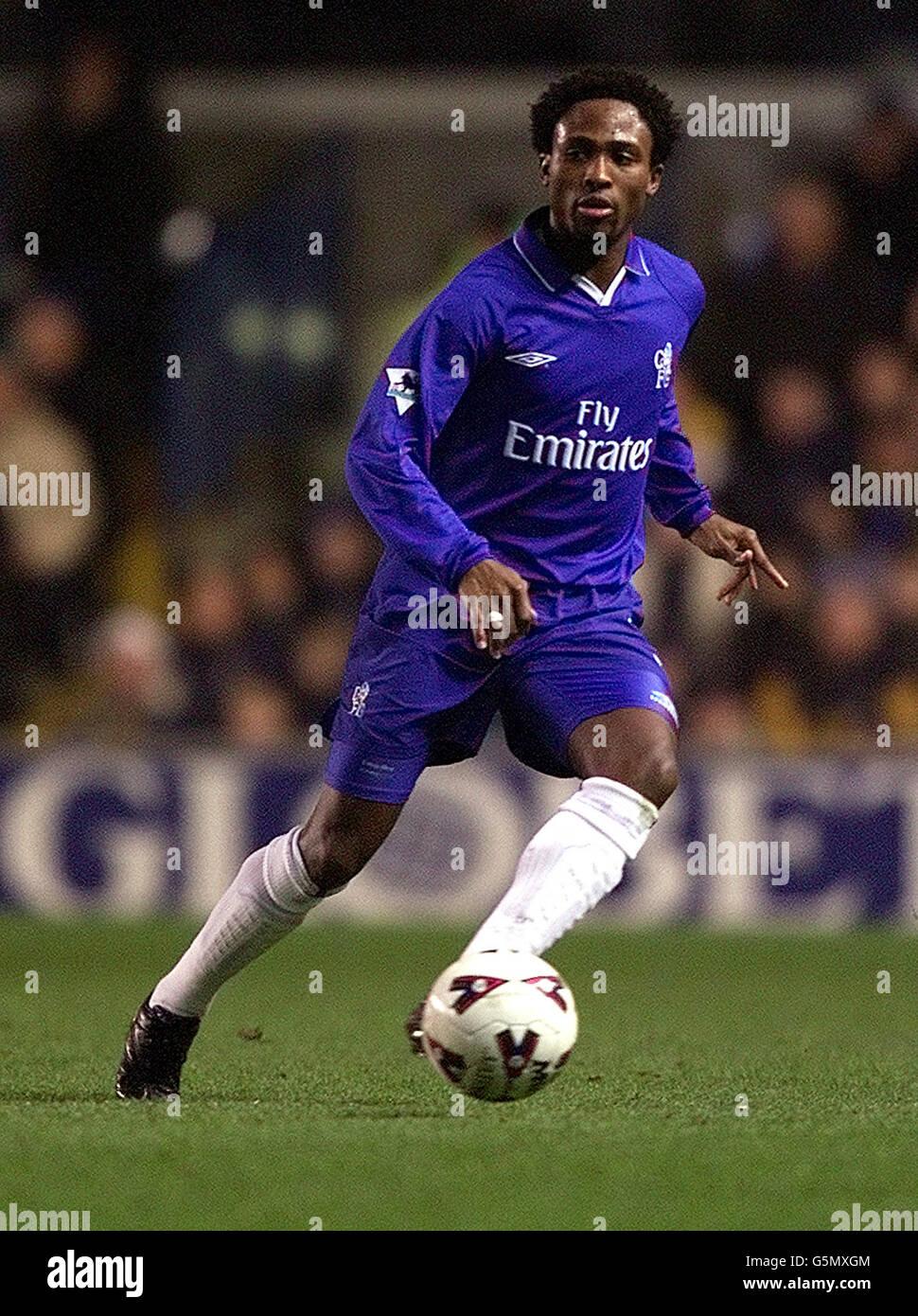 FOOTBALL CHELSEA  -  CELESTINE BABAYARO - Stock Image