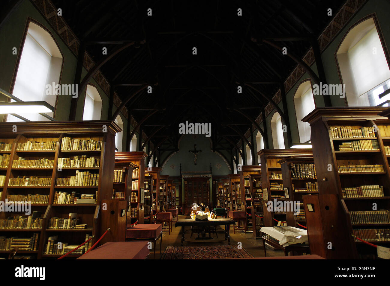 Russell Library, Maynooth College - Stock Image