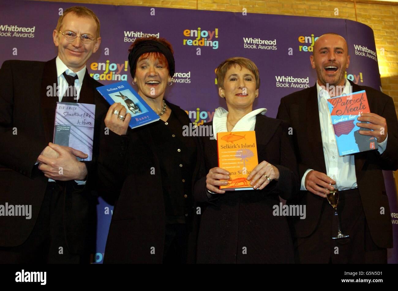 Whitbread Book Awards Authors Stock Photo