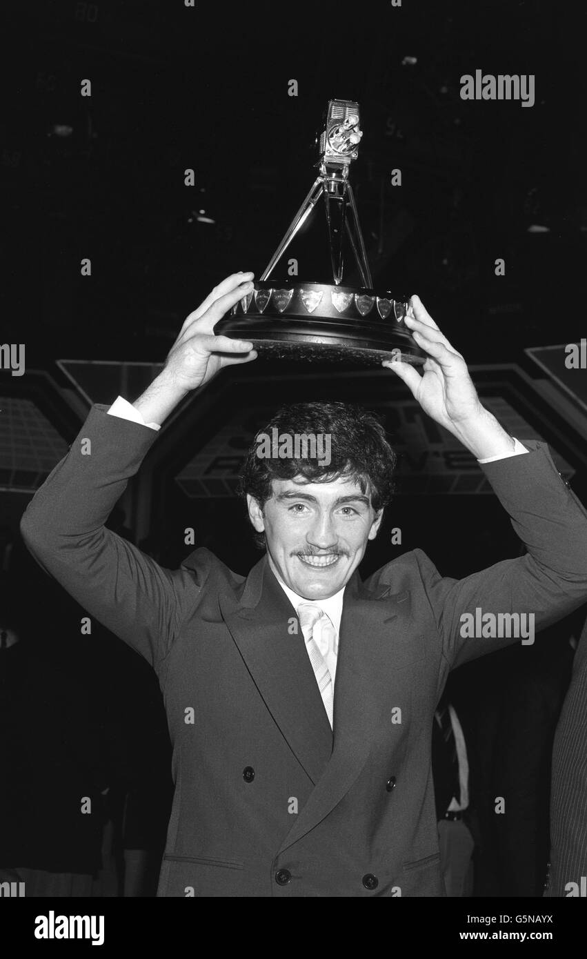 Sport - Barry McGuigan wins the BBC Television Sports Personality of the Year award - London - Stock Image