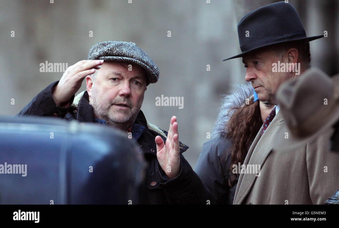 Foyles War filming - Dublin Stock Photo: 106808019 - Alamy