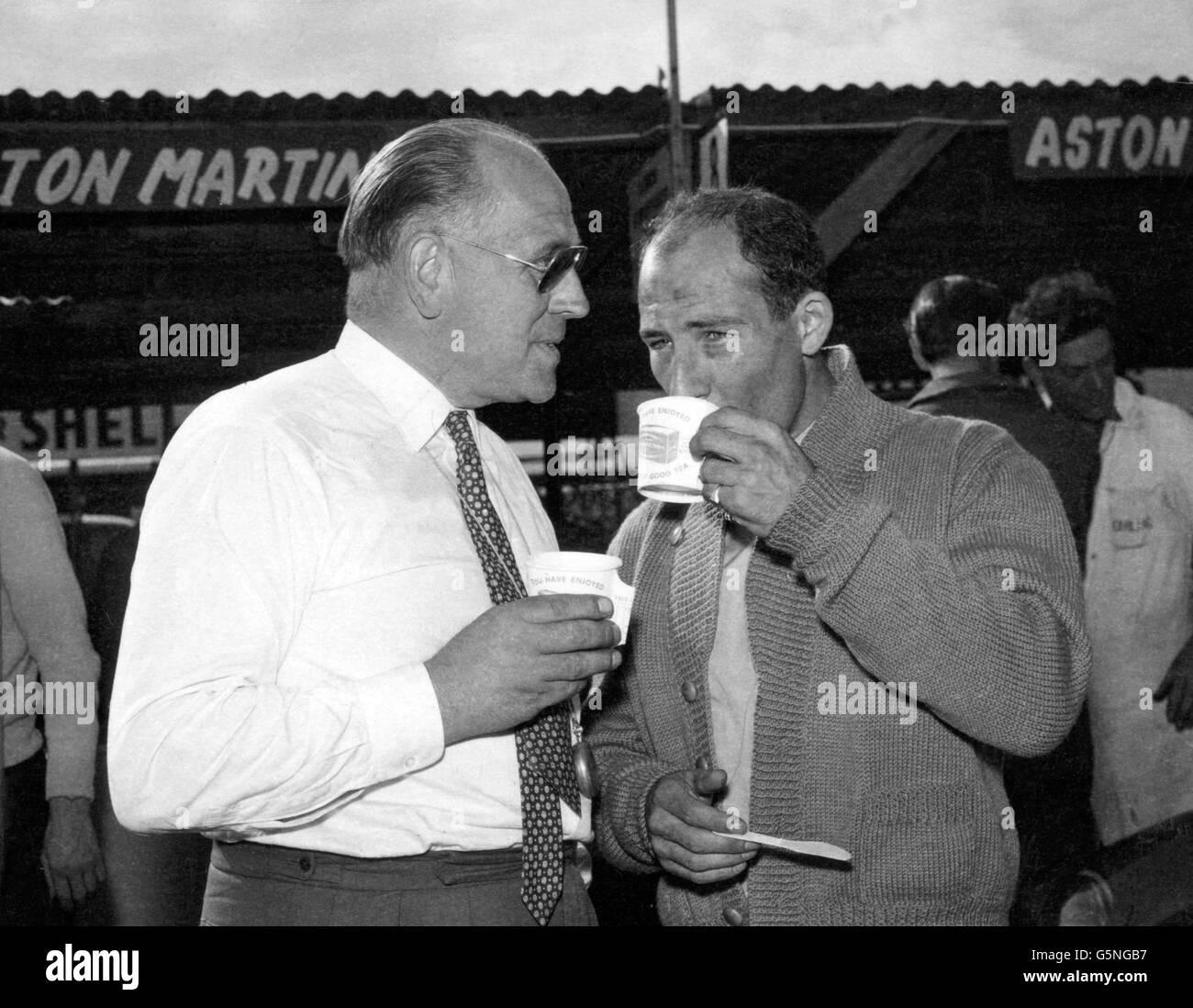 Motor Racing - Stirling Moss - Goodwood - Stock Image