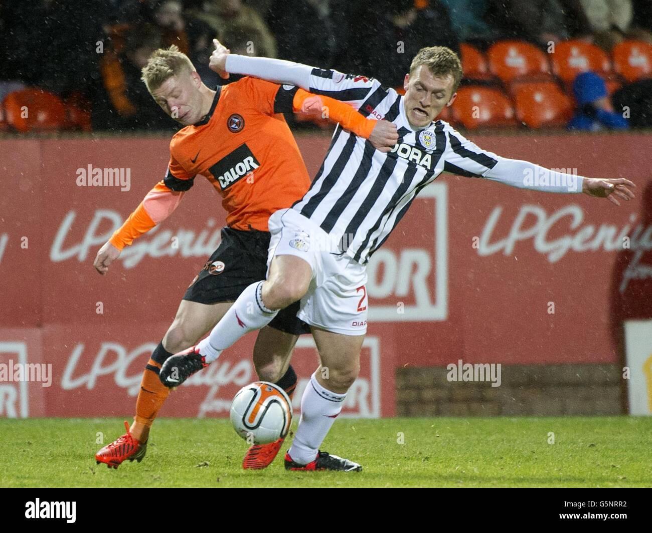 Soccer - Clydesdale Bank Scottish Premier League - Dundee United v St Mirren - Tannadice Park - Stock Image