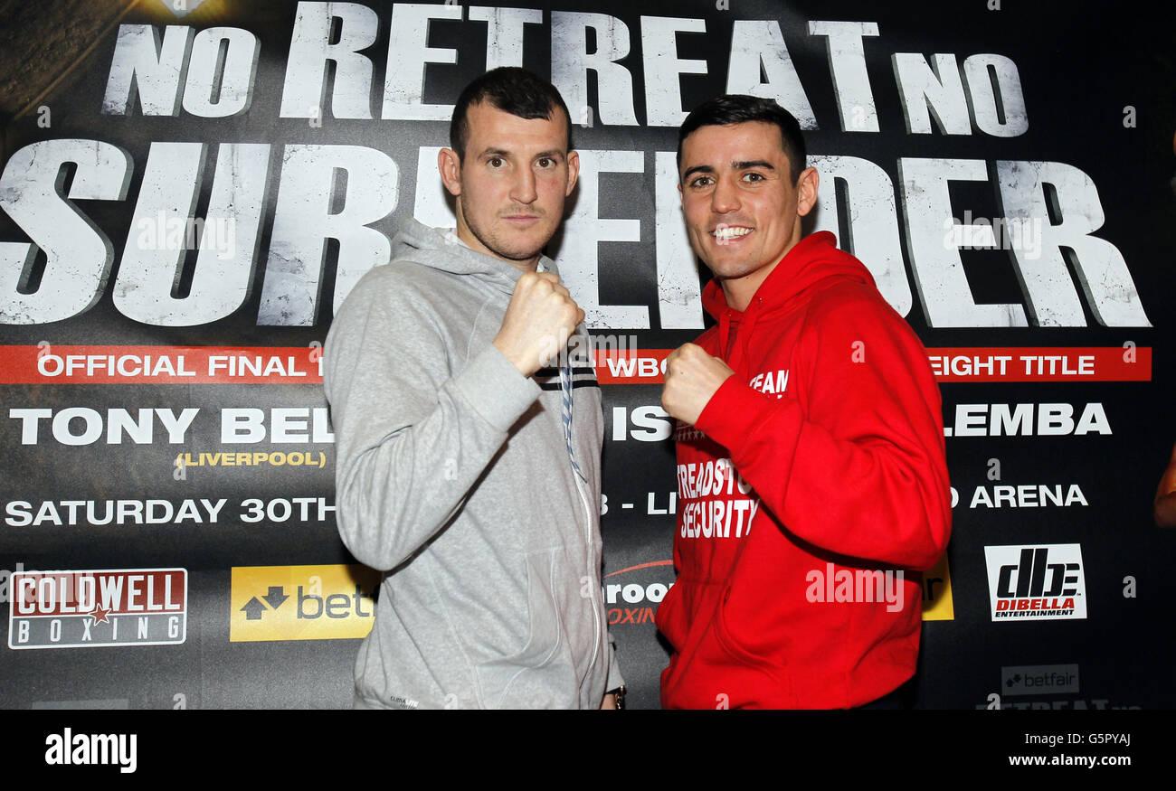 Boxing - No Retreat, No Surrender Press Conference - Hilton Hotel