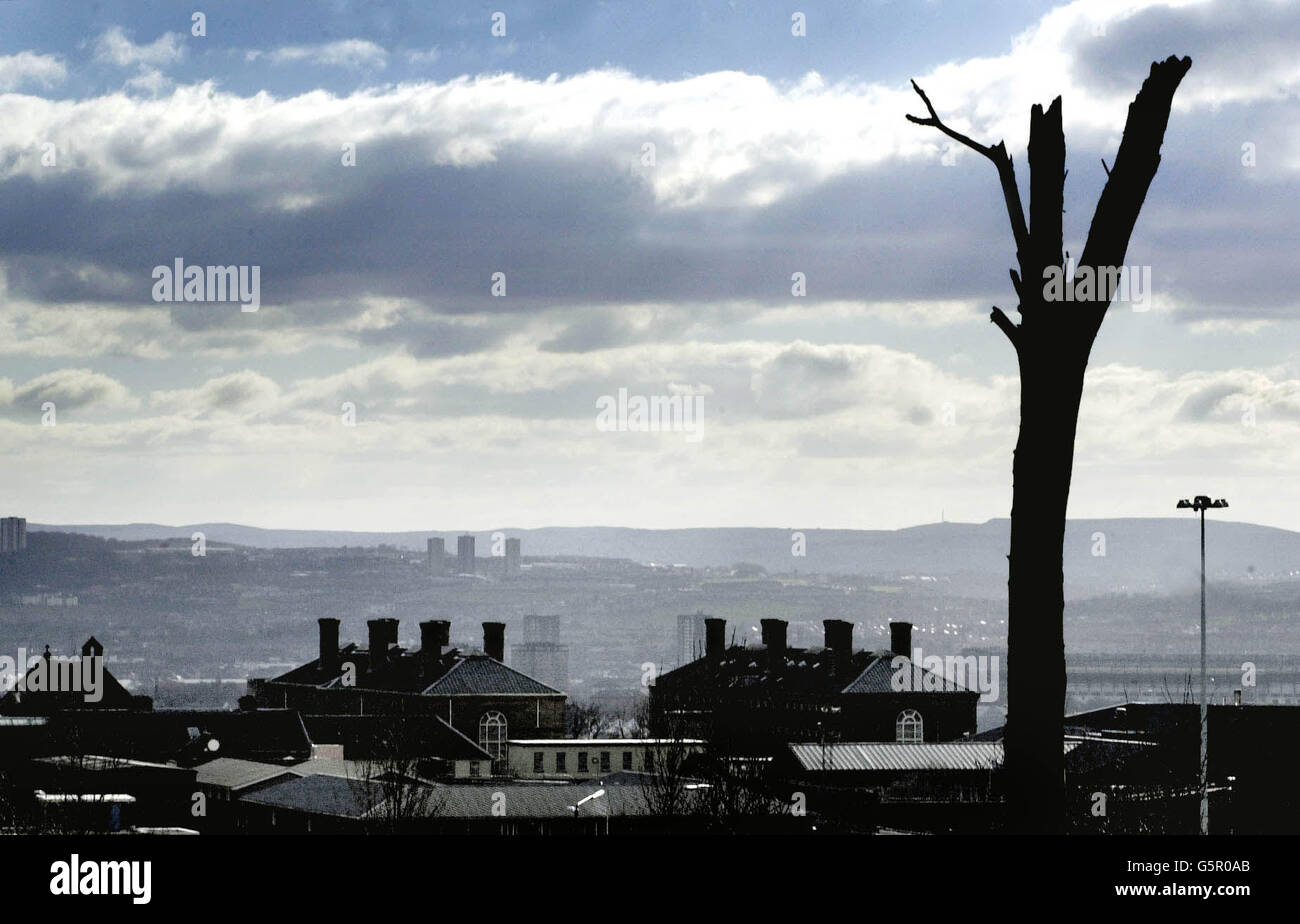 Lockerbie Conviction - Barlinnie Prison - Stock Image