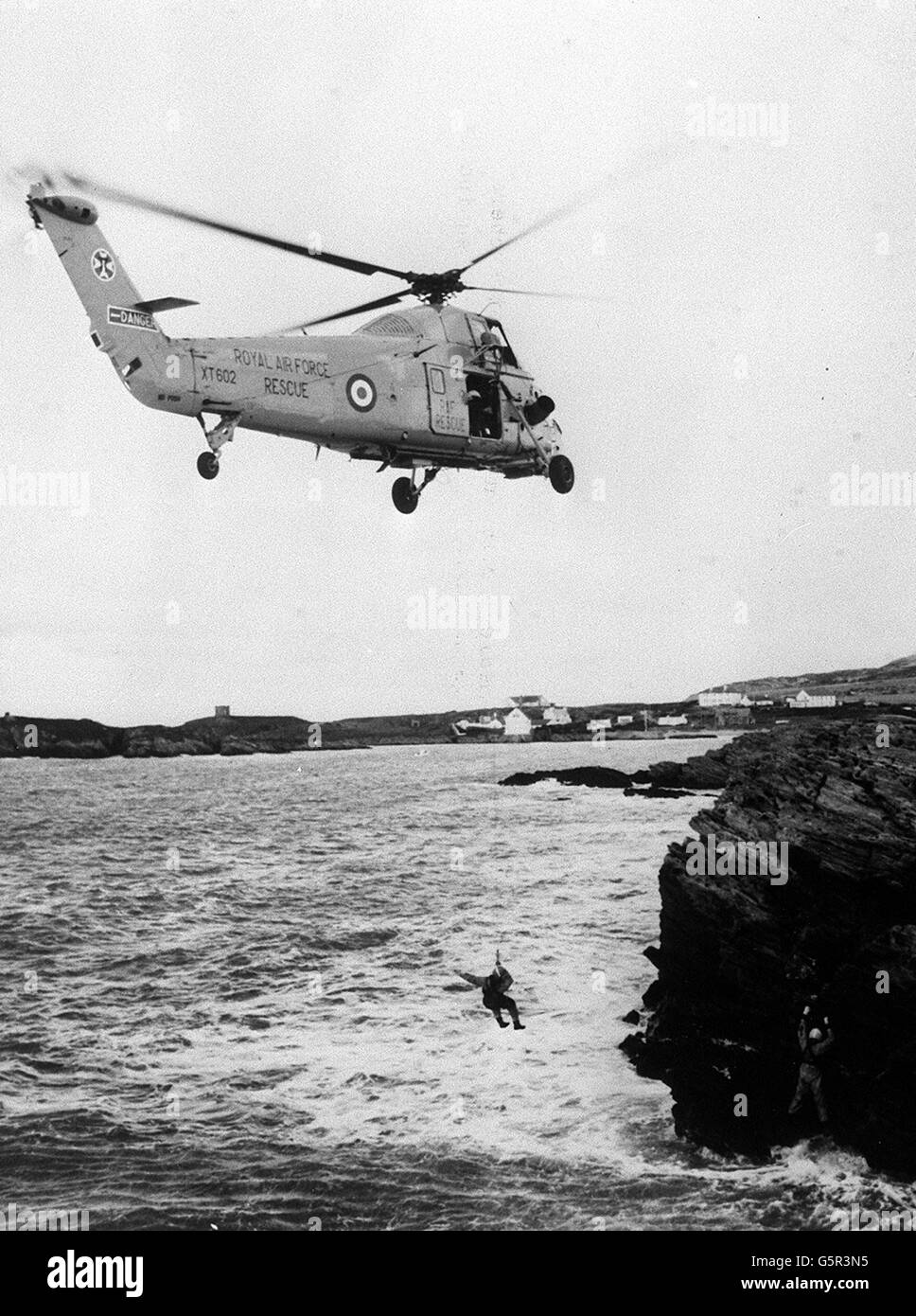 Wessex Helicopter Rescue - Stock Image