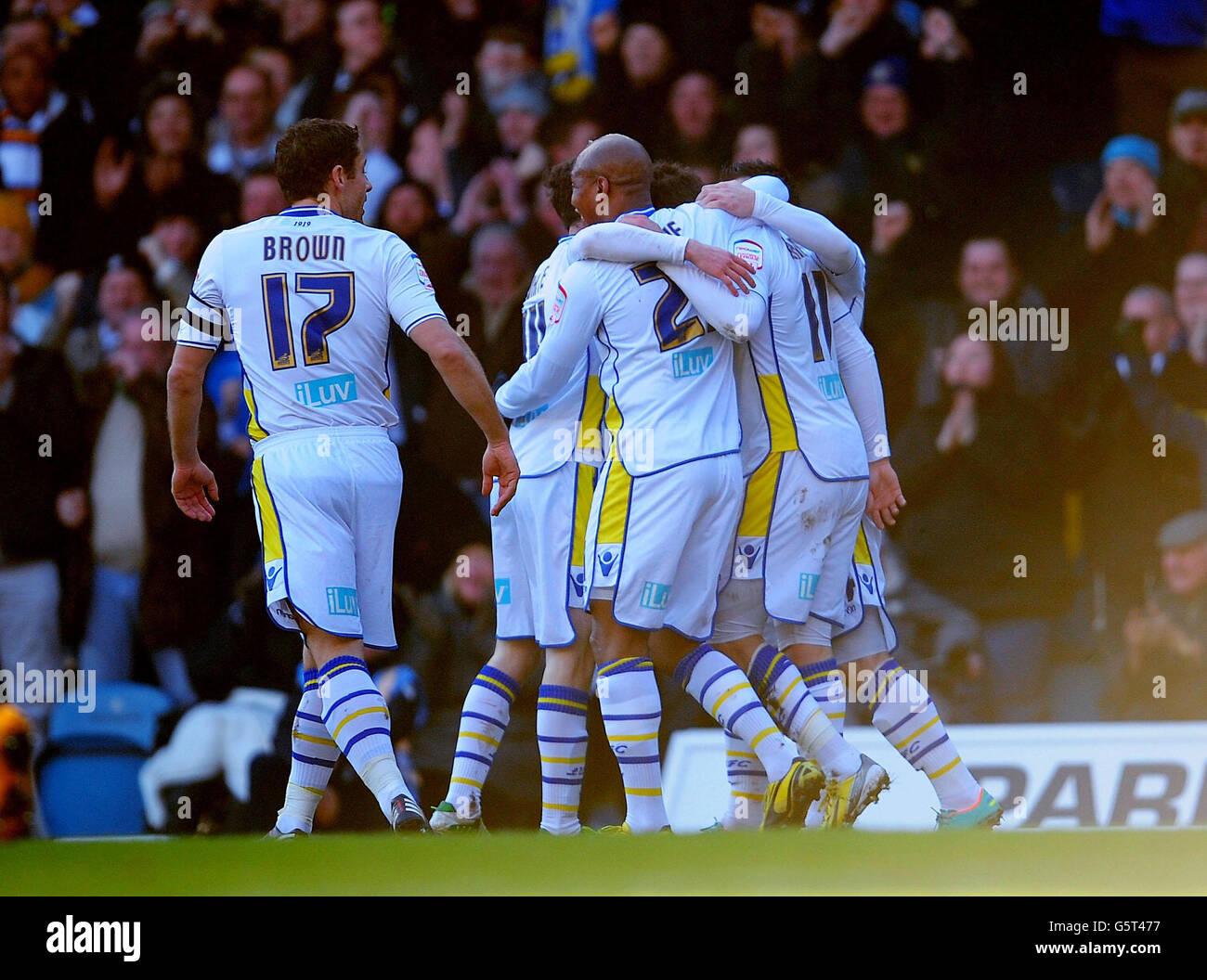 Soccer - FA Cup - Fourth Round - Leeds United v Tottenham Hotspur - Elland Road - Stock Image