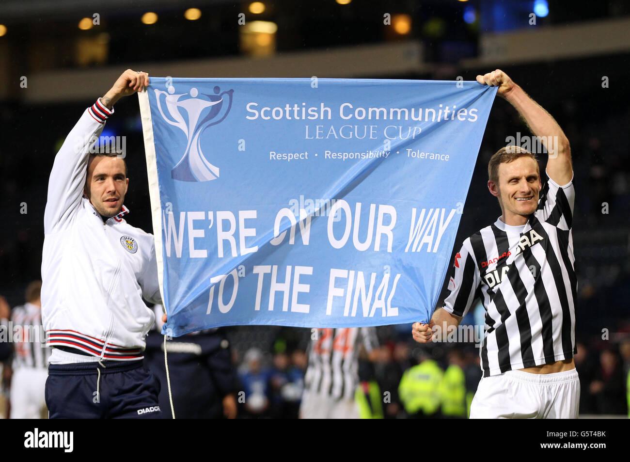 Soccer - Scottish Communities League Cup - Semi Final - St Mirren v Celtic - Hampden Park - Stock Image