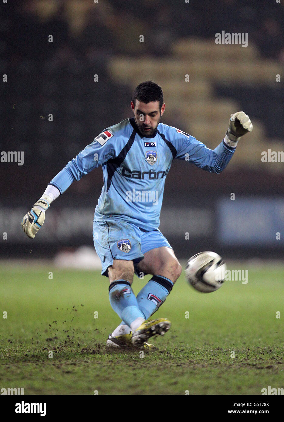 Soccer - npower Football League One - Notts County v Oldham Athletic - Meadow Lane - Stock Image