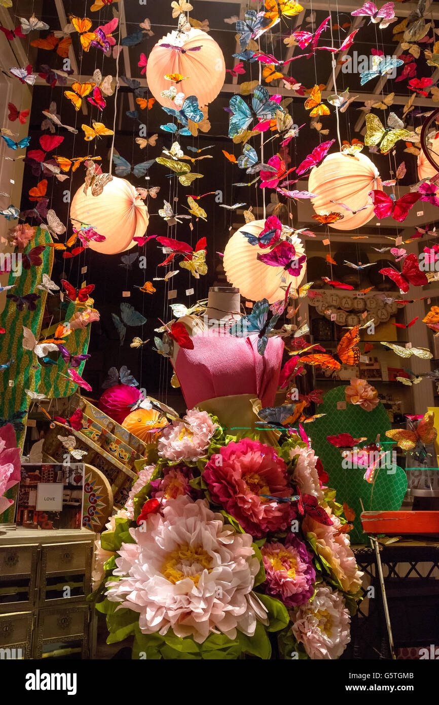 Whimsical store display in San Diego, California - Stock Image