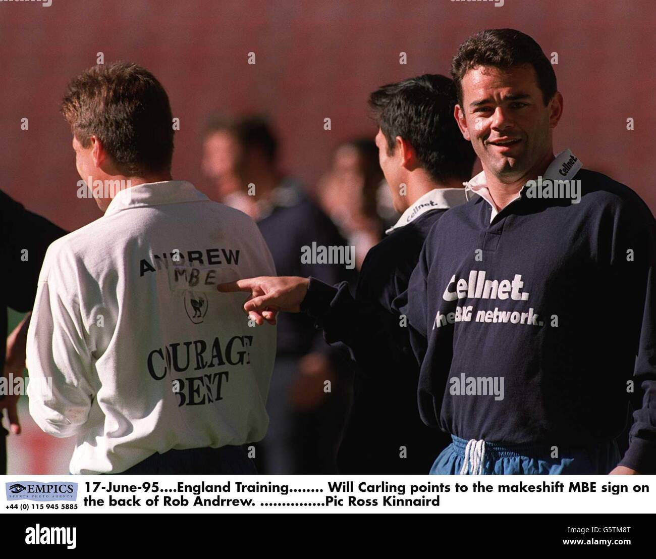 Rugby Union World Cup 1995 - England - Stock Image