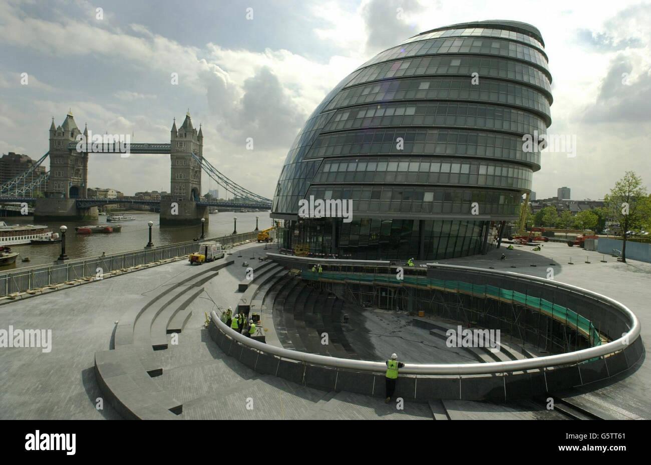 New GLA building - Stock Image