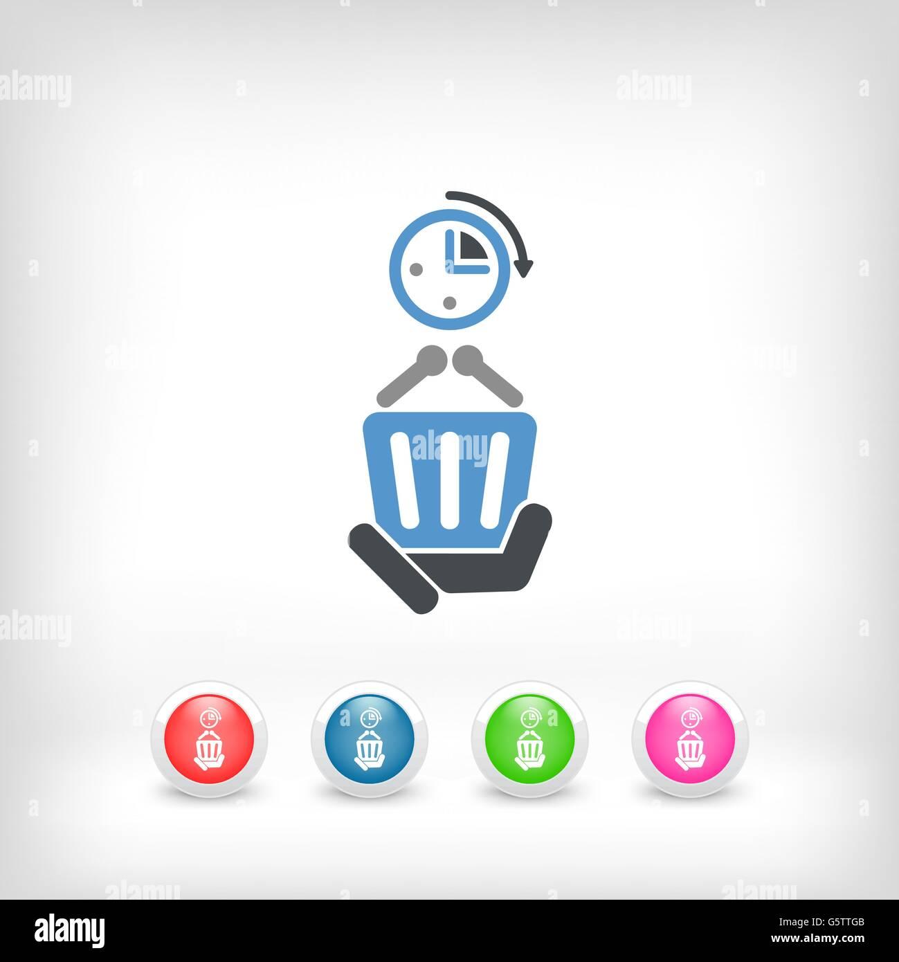 Shopping time - Stock Vector