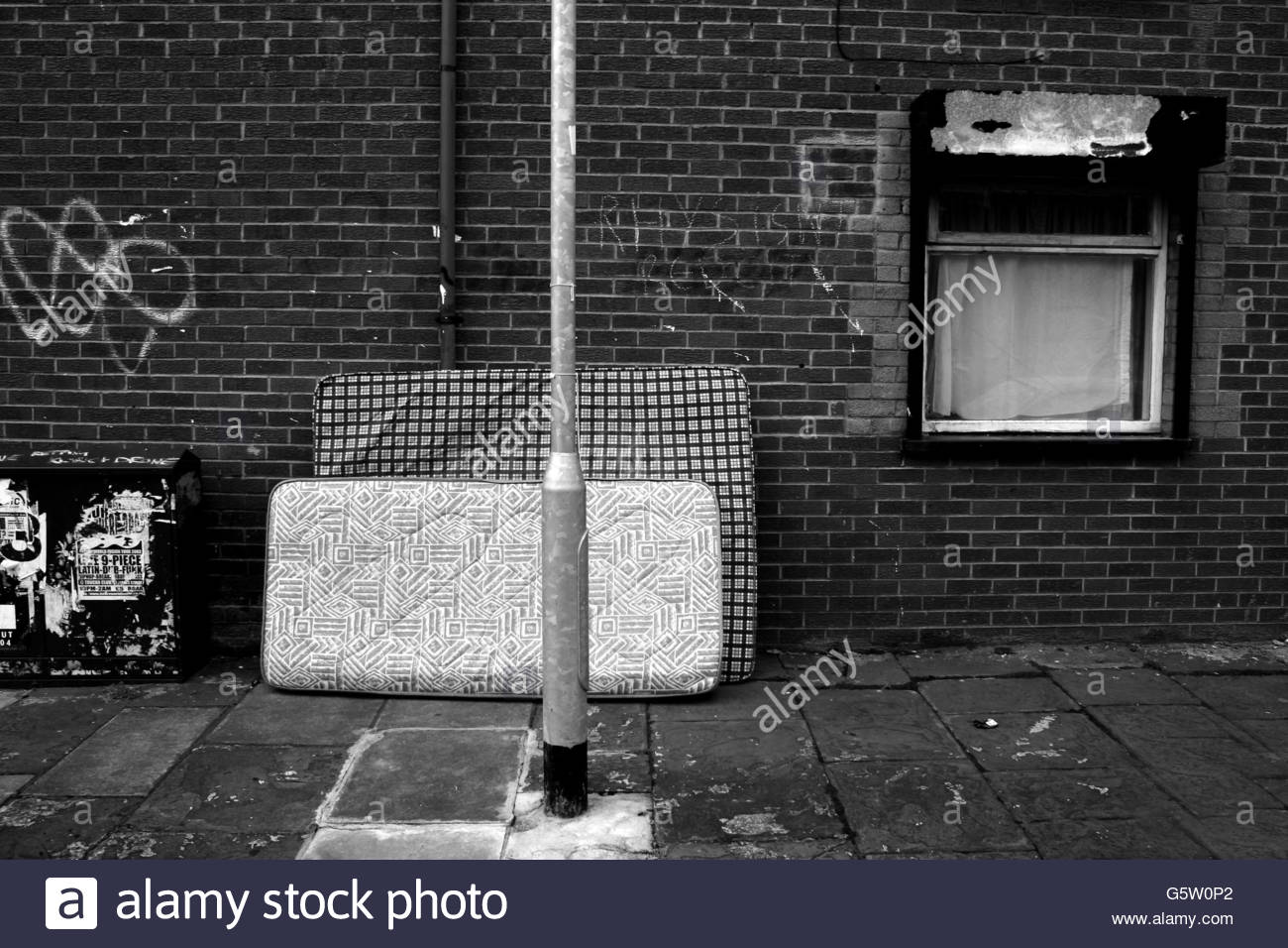 Dumped Mattresses - Stock Image