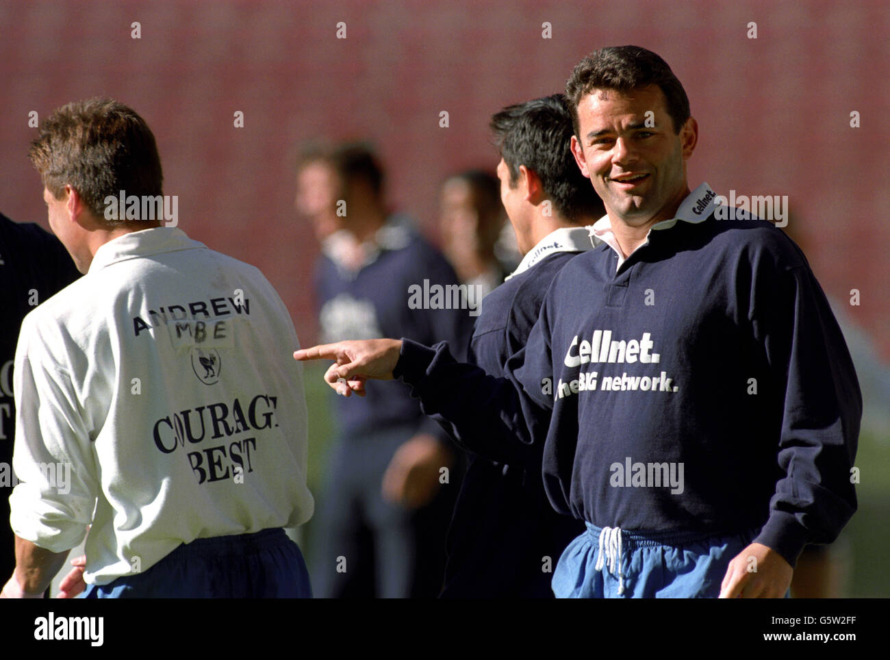Rugby Union World Cup 1995 -England - Stock Image