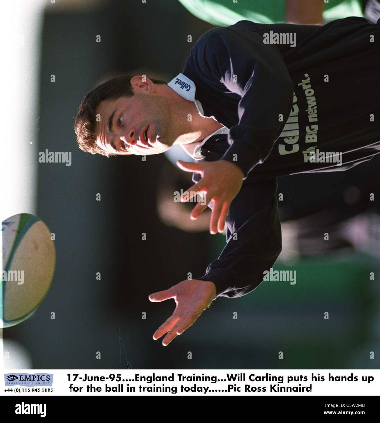 Rugby Union World Cup 1995 -England Stock Photo