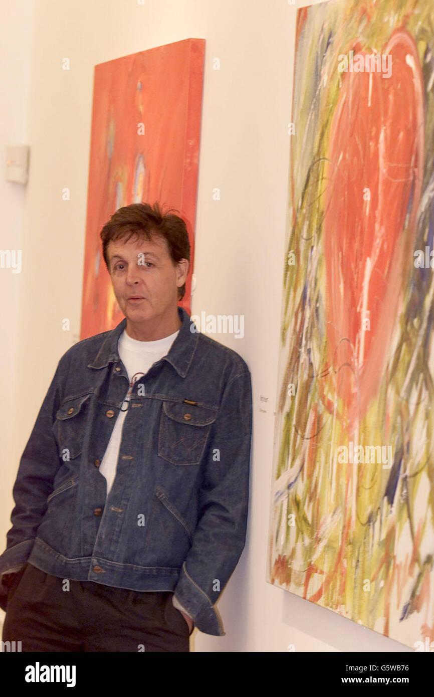 Paul McCartney Art Exhibition