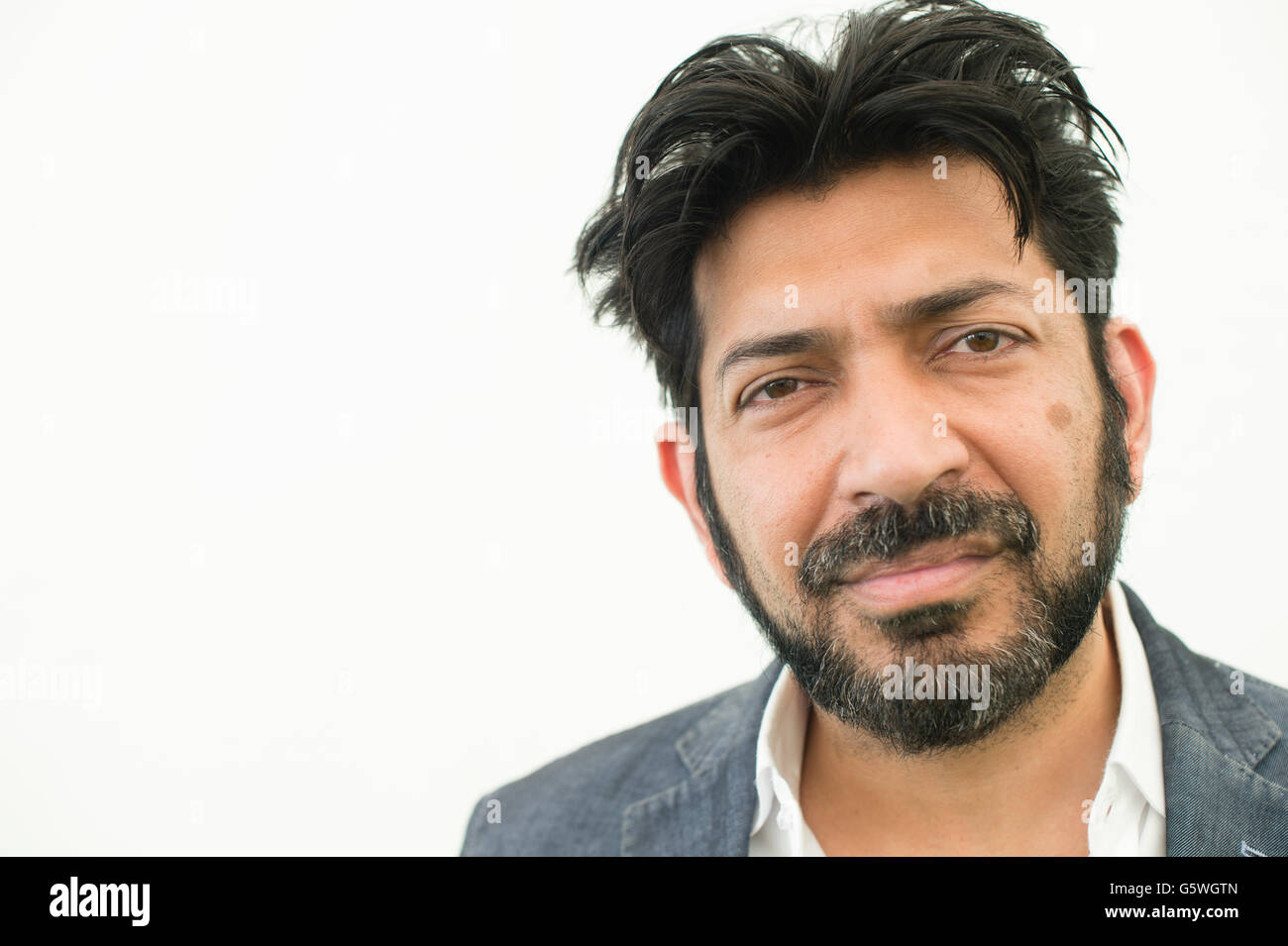 Siddhartha Mukherjee, Indian-born American physician, scientist, and writer best known for his 2010 book, The Emperor - Stock Image