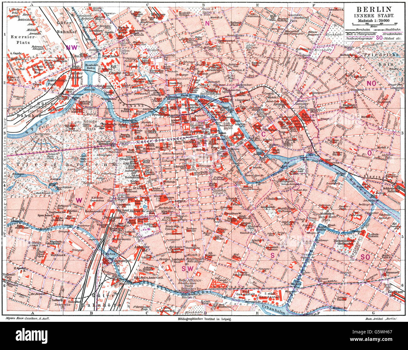 Berlin Map Of Germany.Cartography City Maps Germany Map Of Berlin Inner City Stock