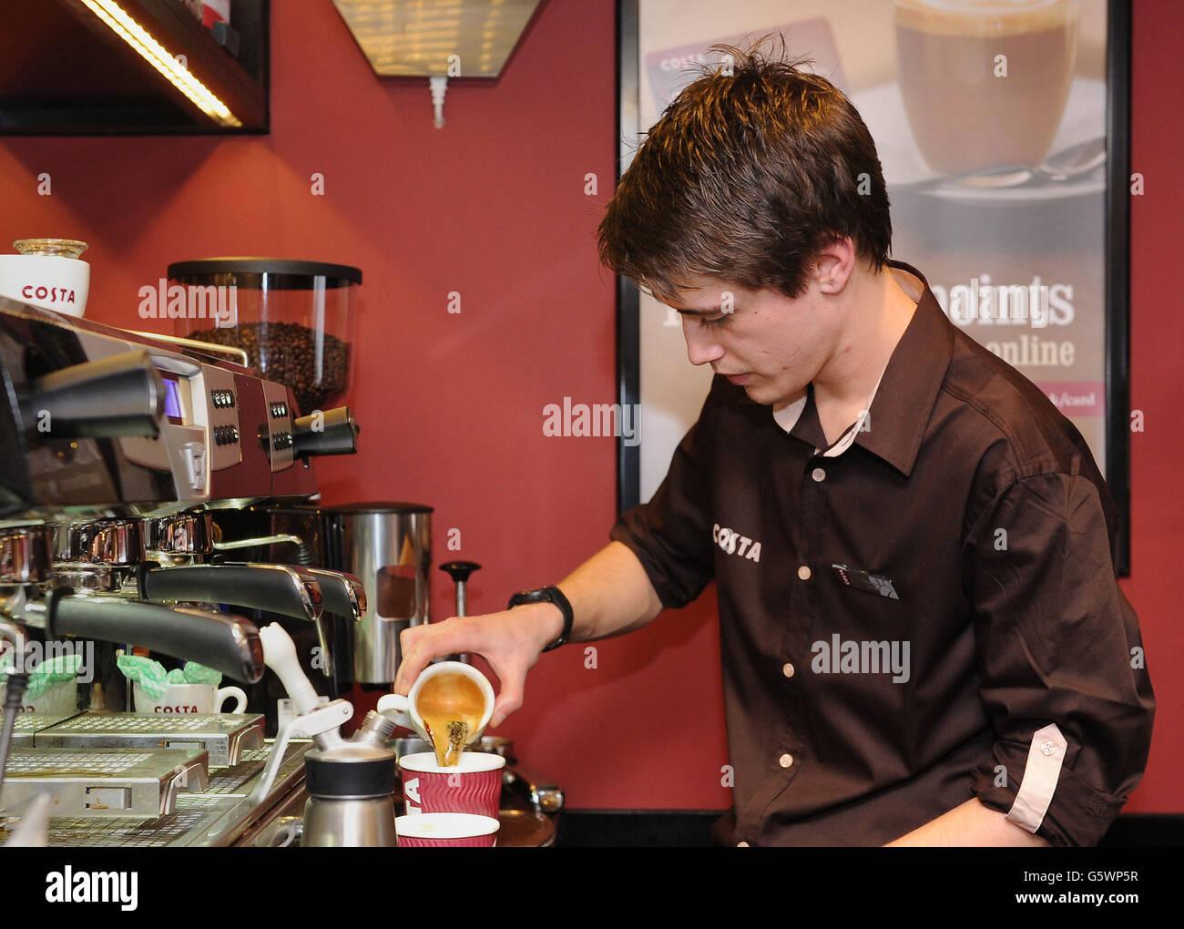 Costa Coffee Jobs Stock Photo 106901699 Alamy