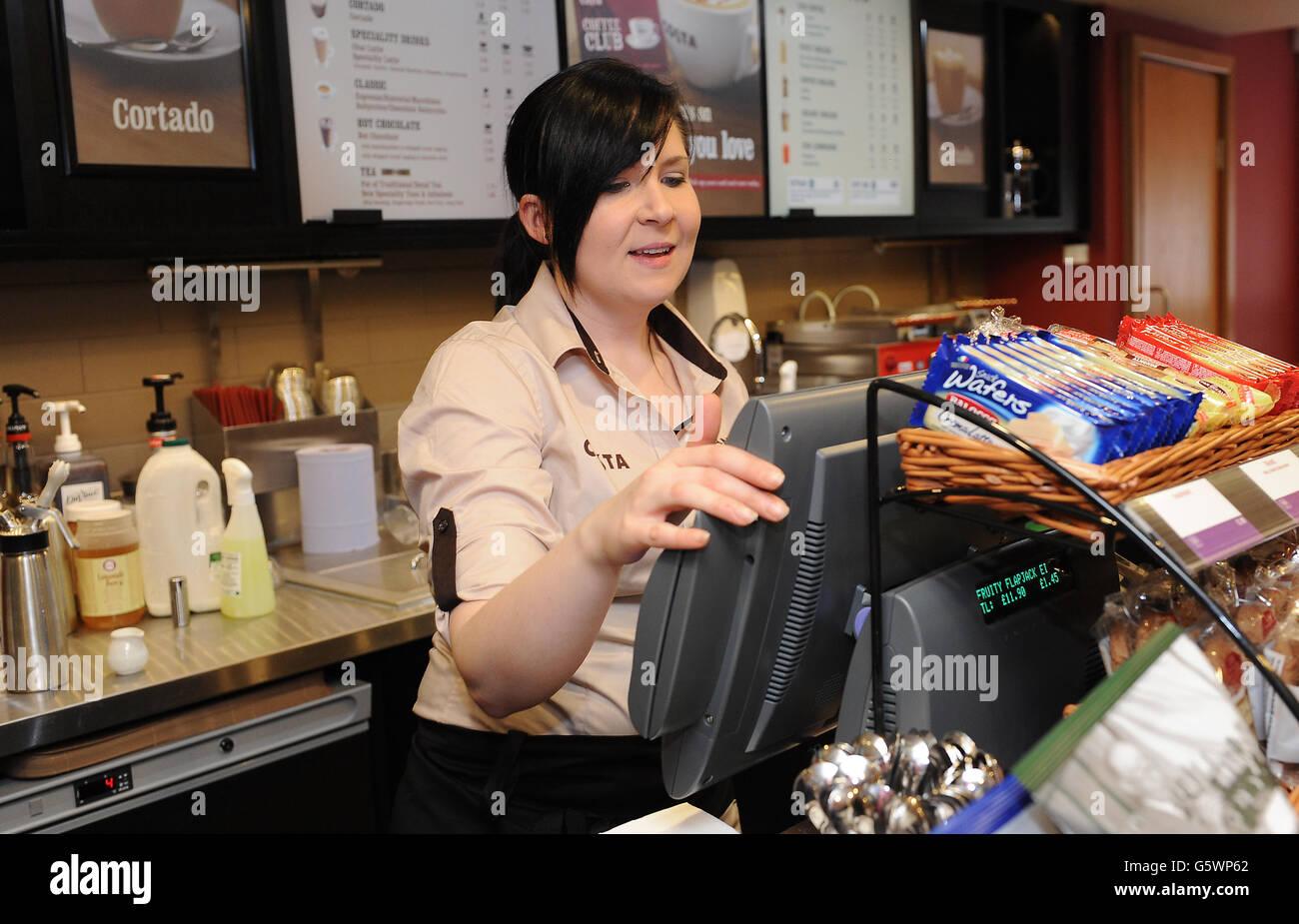 Costa Coffee Jobs Stock Photo 106901706 Alamy