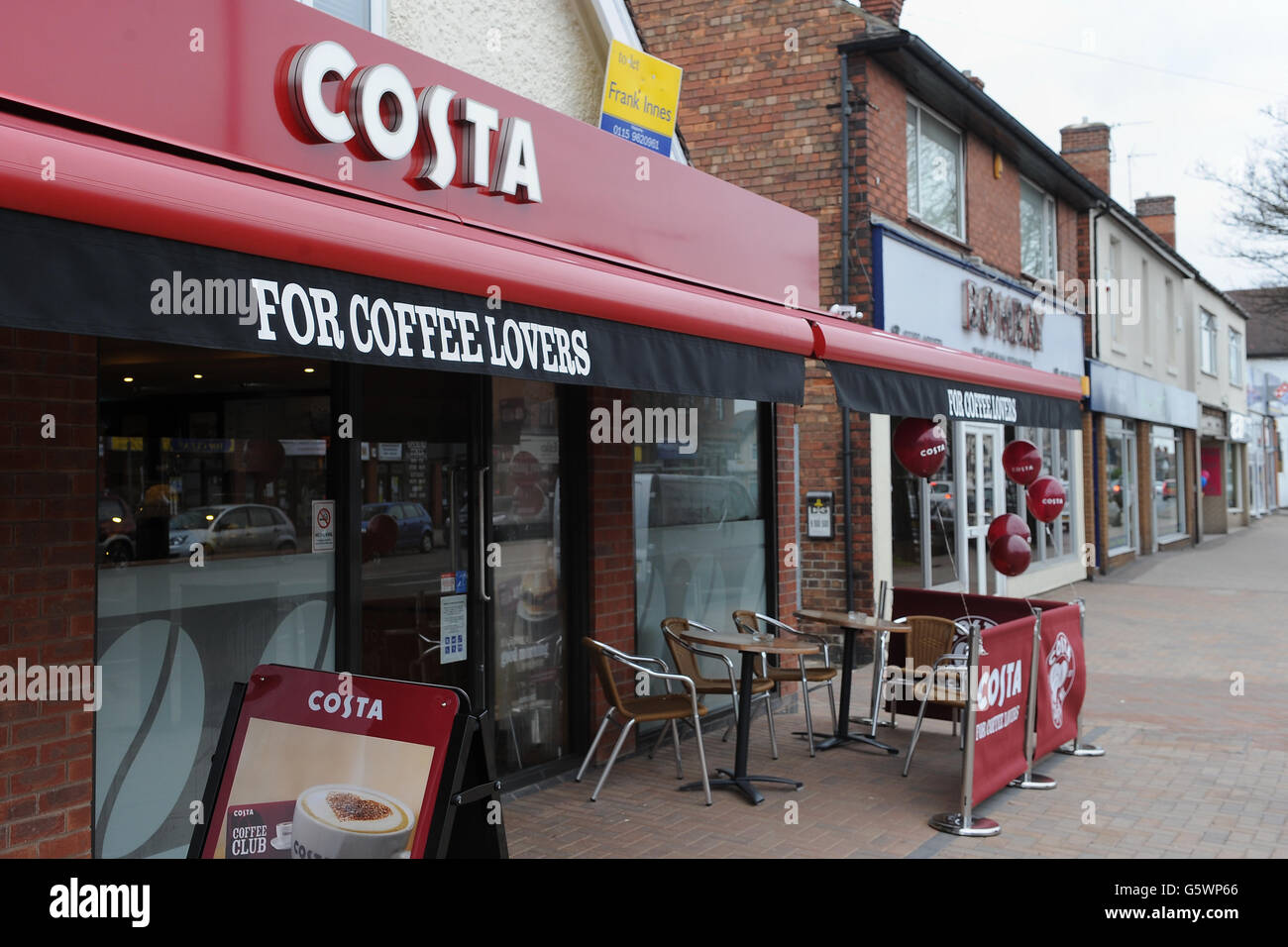 New Costa Coffee Stock Photos New Costa Coffee Stock