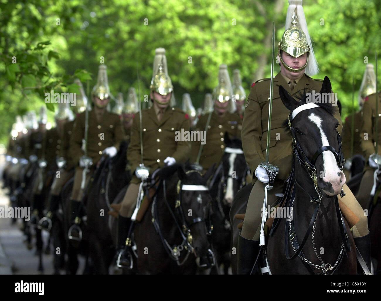 Royalty - Queen Elizabeth II Golden Jubilee Stock Photo