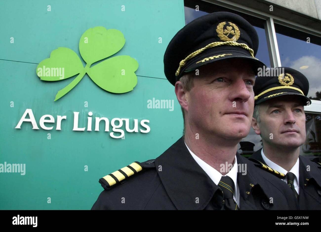 Aer Lingus industrial dispute - Stock Image