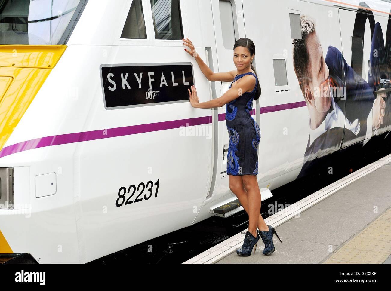 Skyfall East Coast train Stock Photo: 106908551 - Alamy