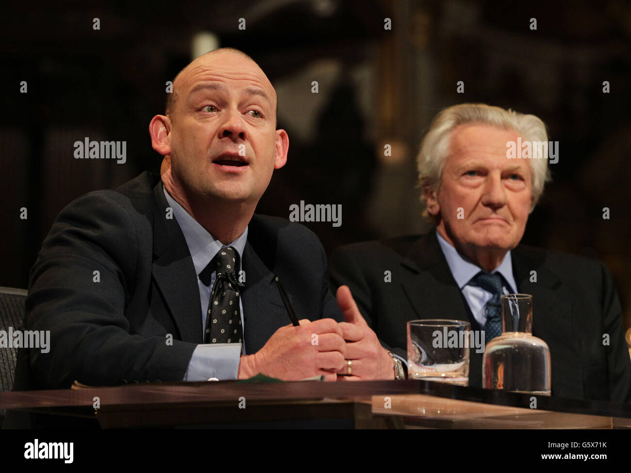 Question Time from St Paul's - Stock Image