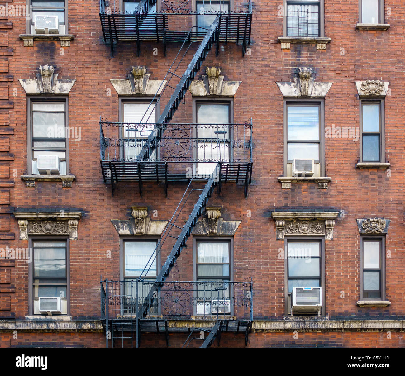 Cheap Apartments Outside Bricks: Apartment Building Exterior Steps Stock Photos & Apartment