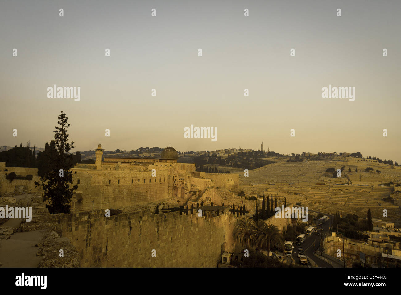 View of Jerusalem - Stock Image