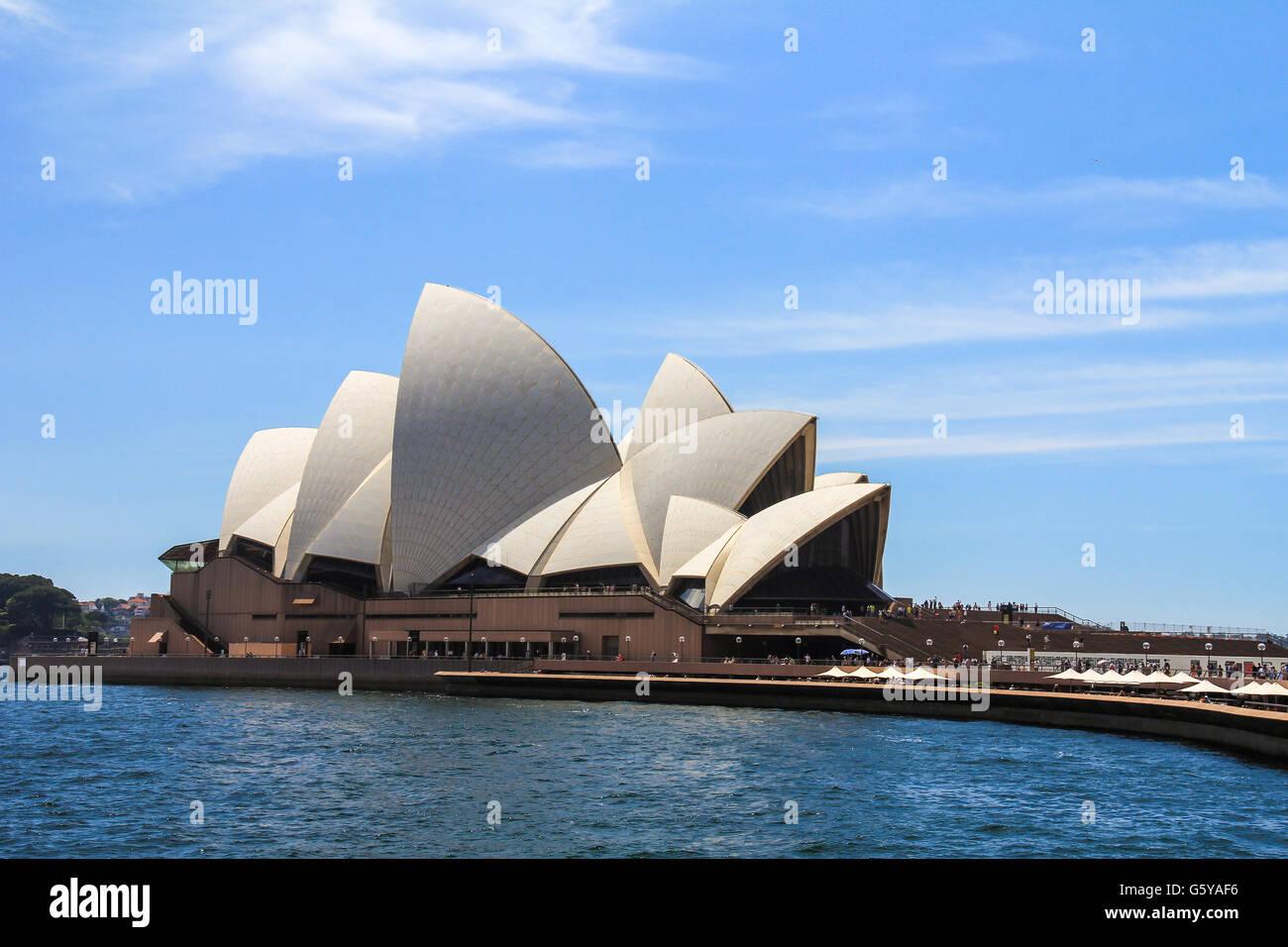Sydney Opera house in Australia - Stock Image